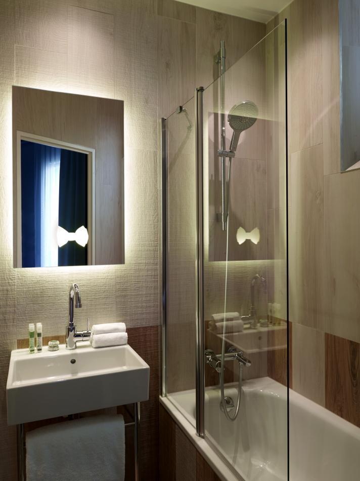 Hôtel Gaston - Chambre - Salle de bain
